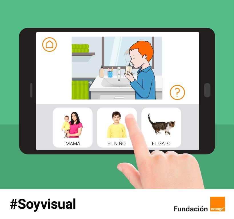 Resultado de imagen de soy visual app